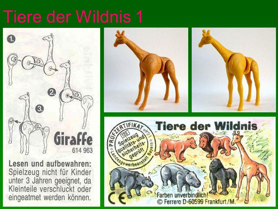 Tiere der Wildnis 1