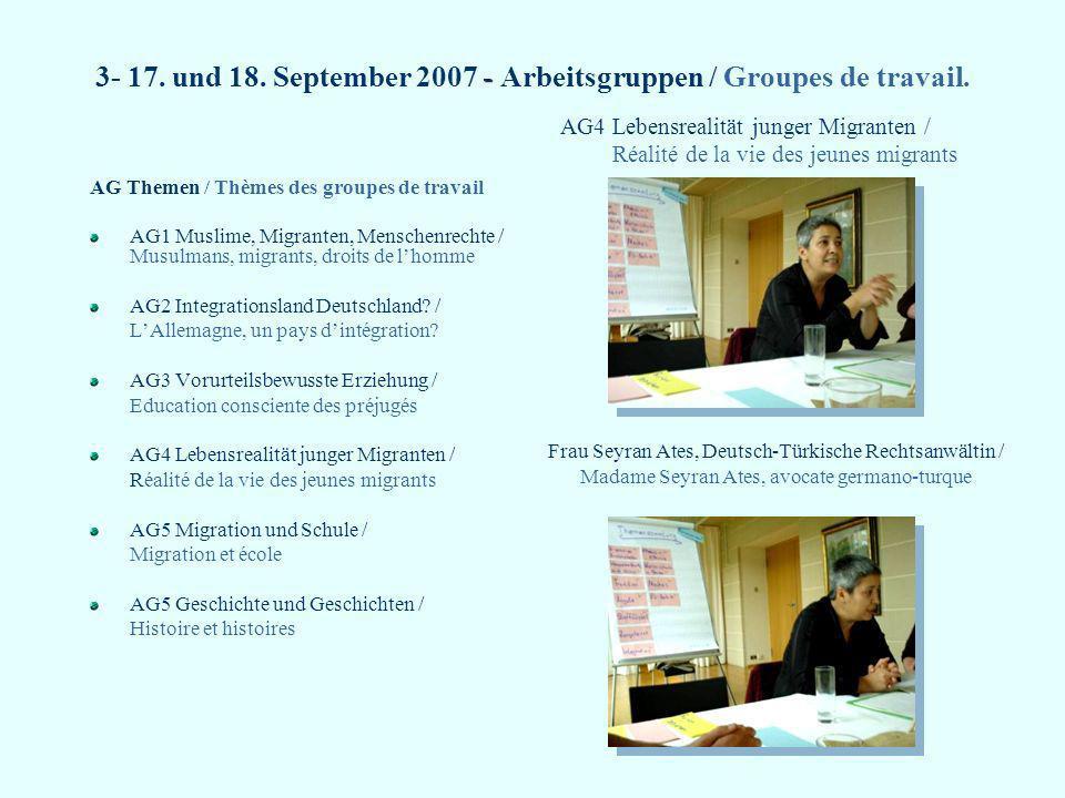 7- Quellen / Sources Material der Deutschen Unesco-Jahrestagung der Projektschulen.