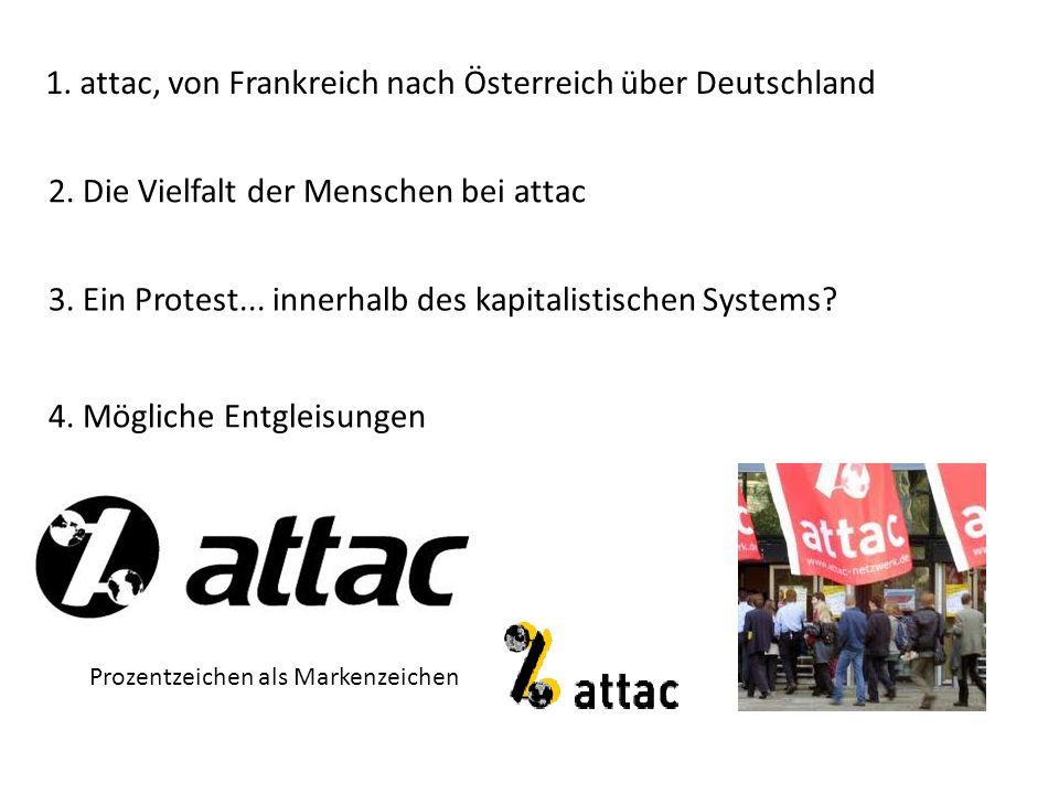 1.attac, von Frankreich nach Österreich über Deutschland 2.