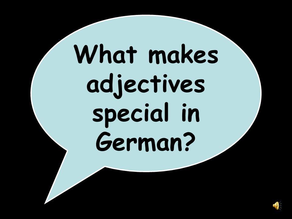 Add -e to adjectives describing feminine nouns