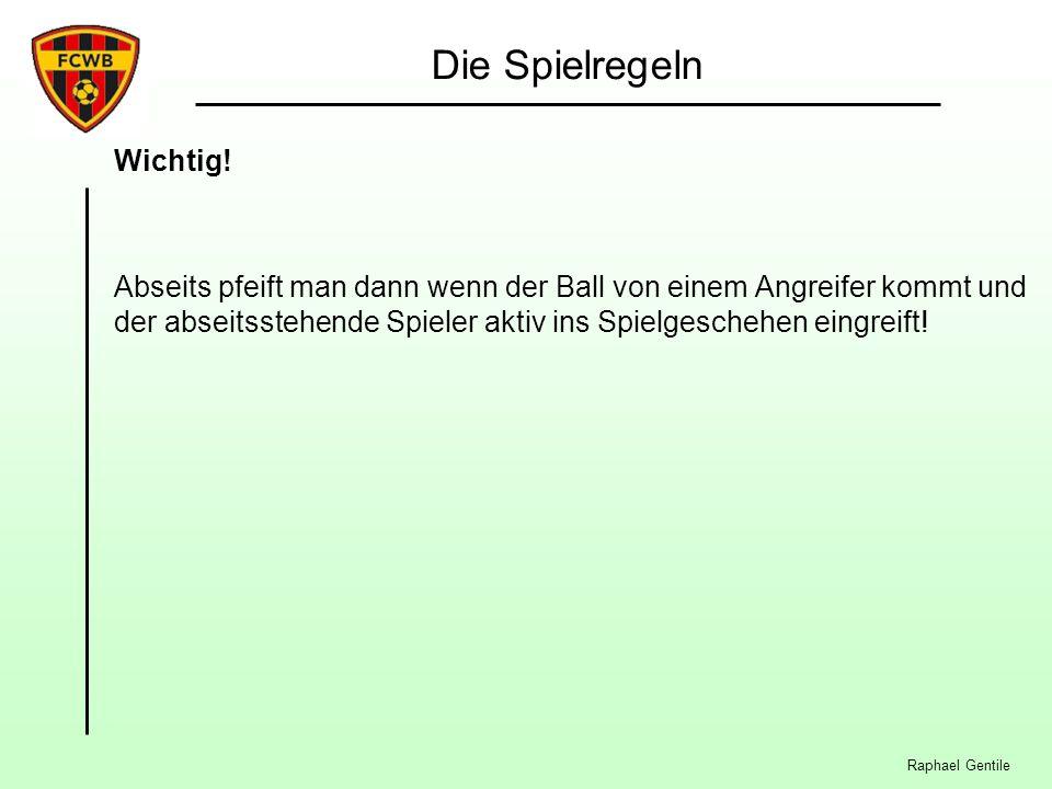 Raphael Gentile Die Spielregeln Wichtig.