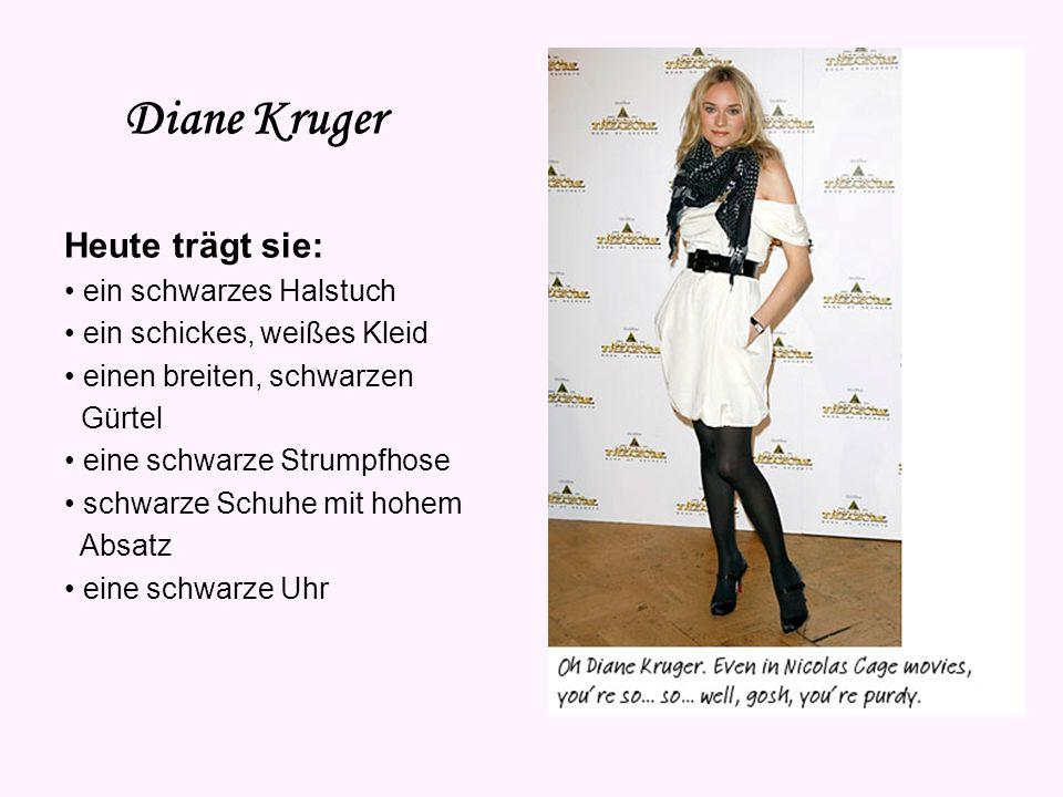 Diane Kruger Vorname: Diane Nachname: Heidkrüger Alias: Diane Kruger Geburtsdatum: 15. Juli 1976 Sternzeichen: Krebs Geburtsort: Hildesheim Haarfarbe: