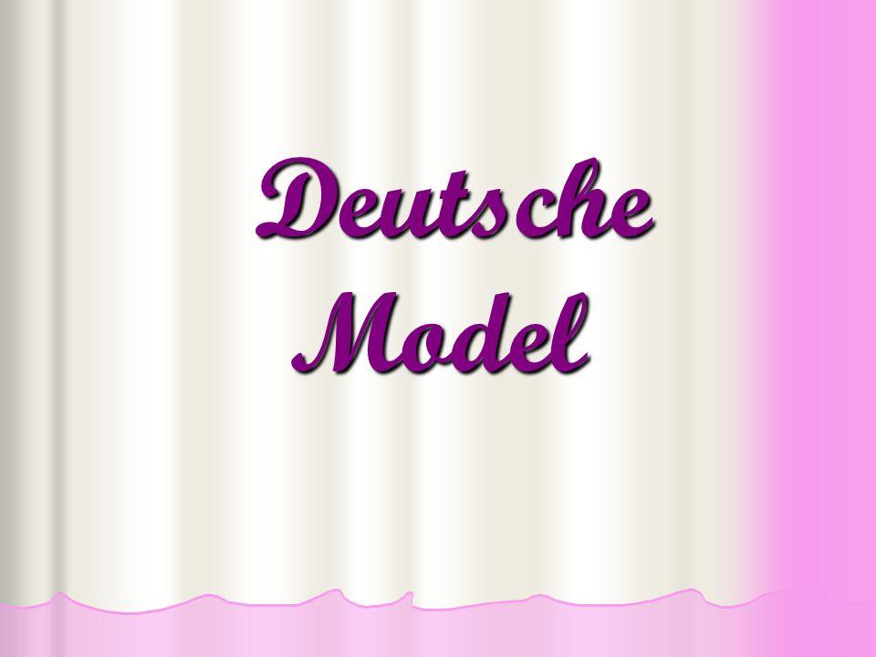 Deutsche Model Deutsche Model
