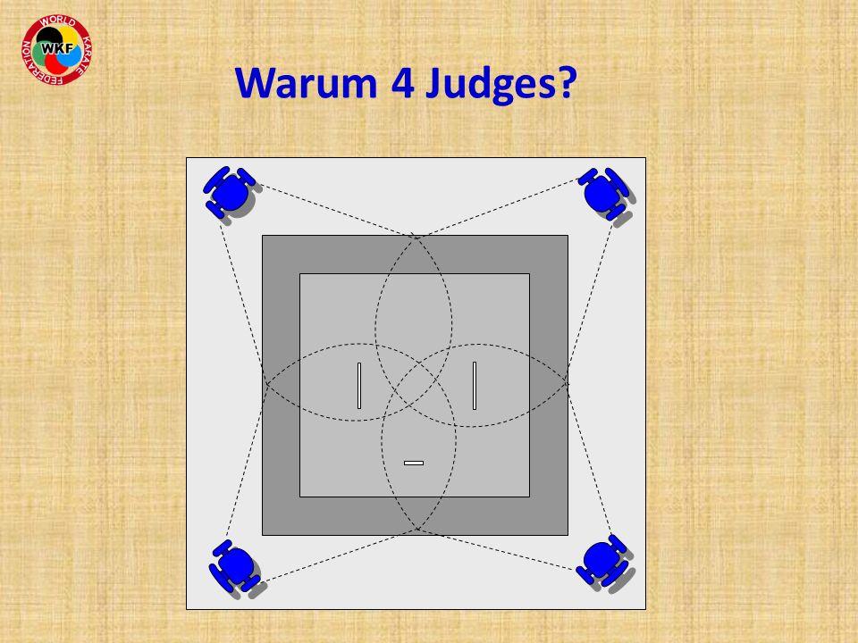 Warum 4 Judges?