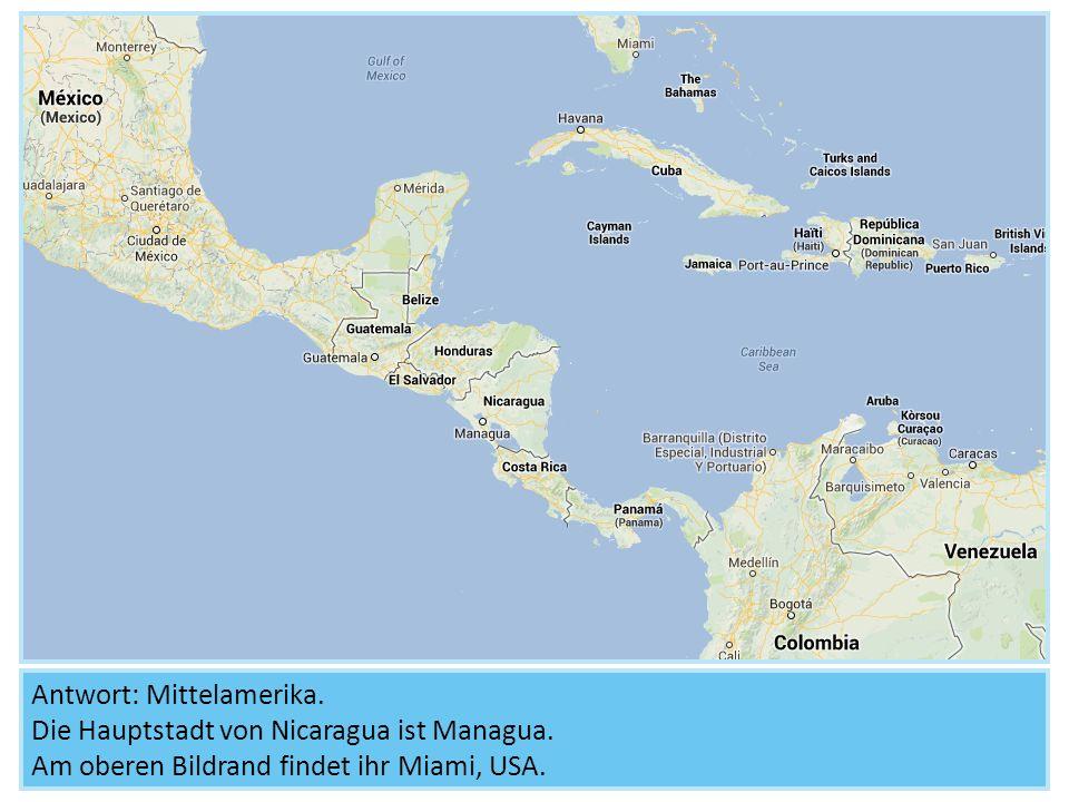 Wenn man in die Karte hineinzoomt, erkennt man Jinotega.