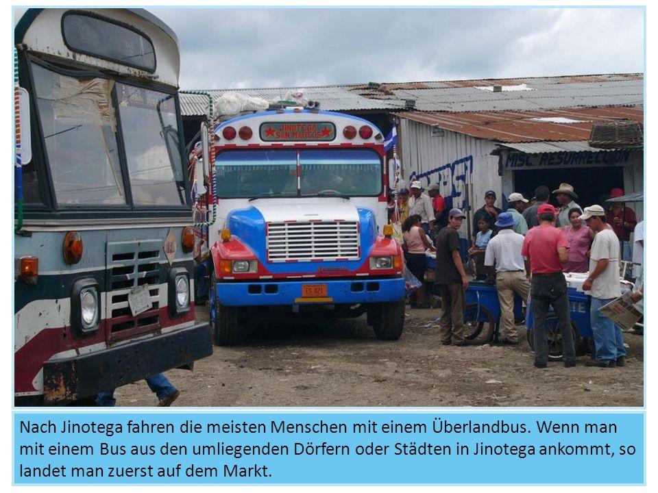 Die Straßenverkäufer sind jedoch nicht die einzigen Kinder, die in Jinotega arbeiten.