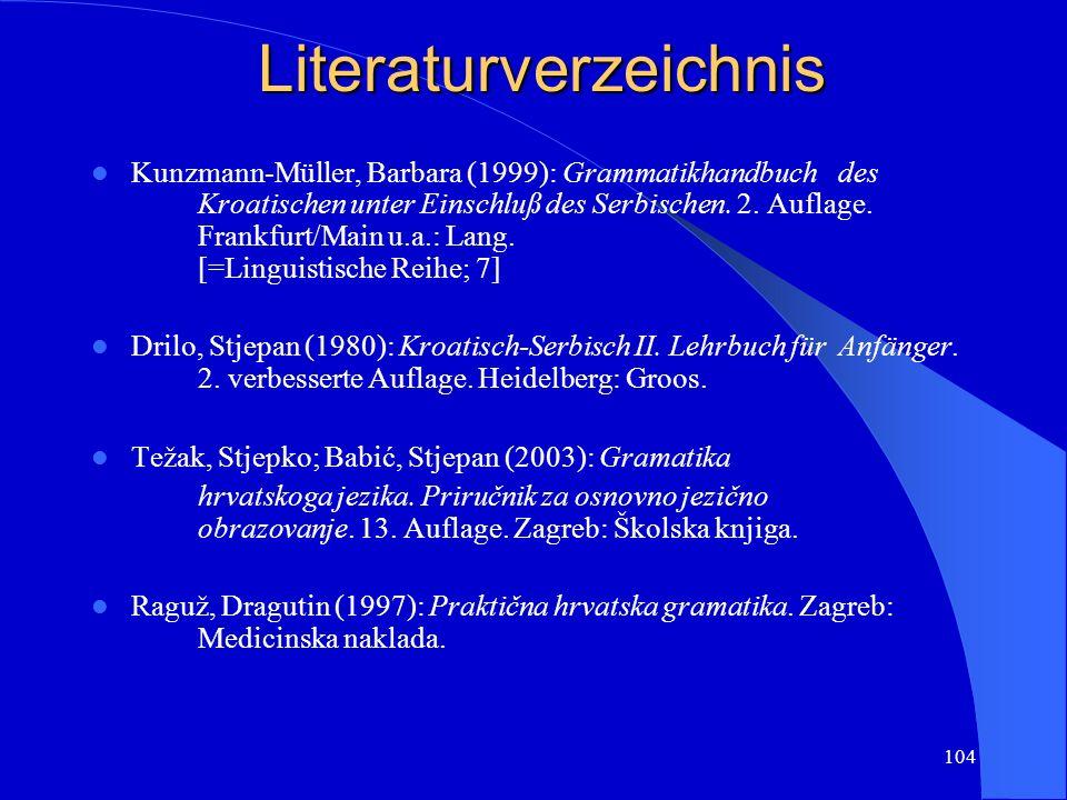 103 Beispieltext/primjer: Slobodan Prosperov Novak Stradun Vrijeme.