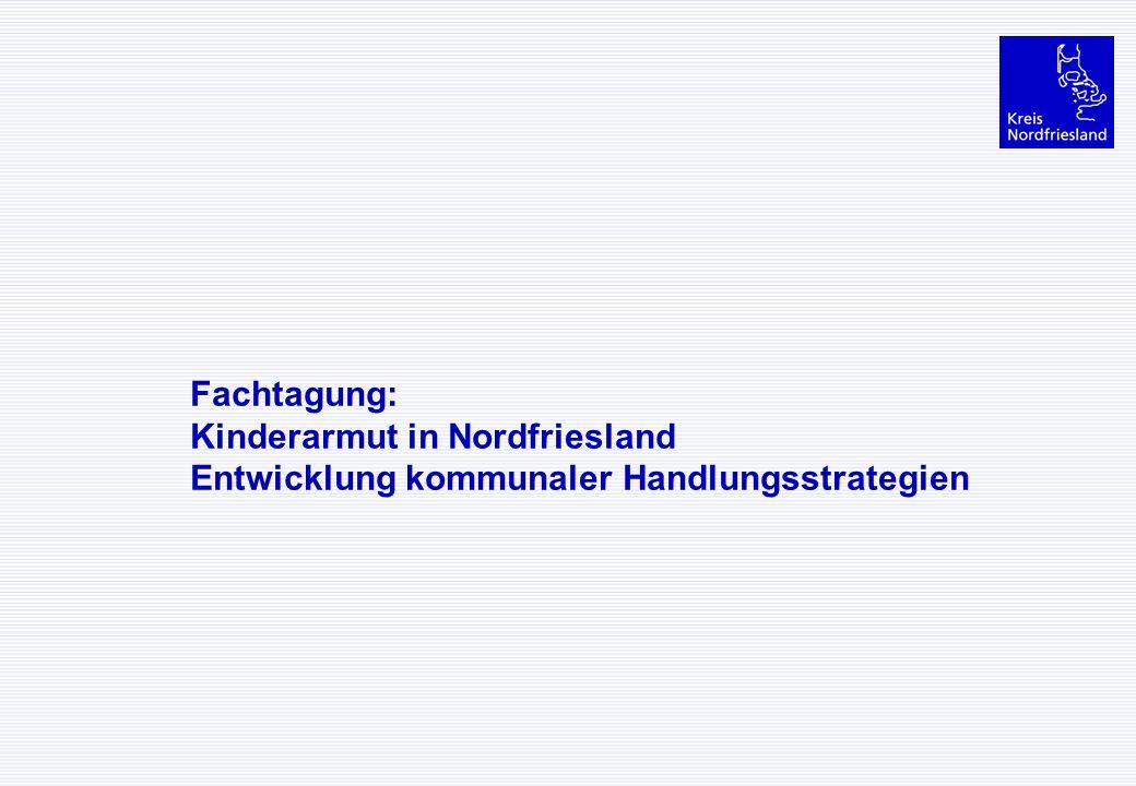 Fachtagung: Kinderarmut in Nordfriesland Entwicklung kommunaler Handlungsstrategien