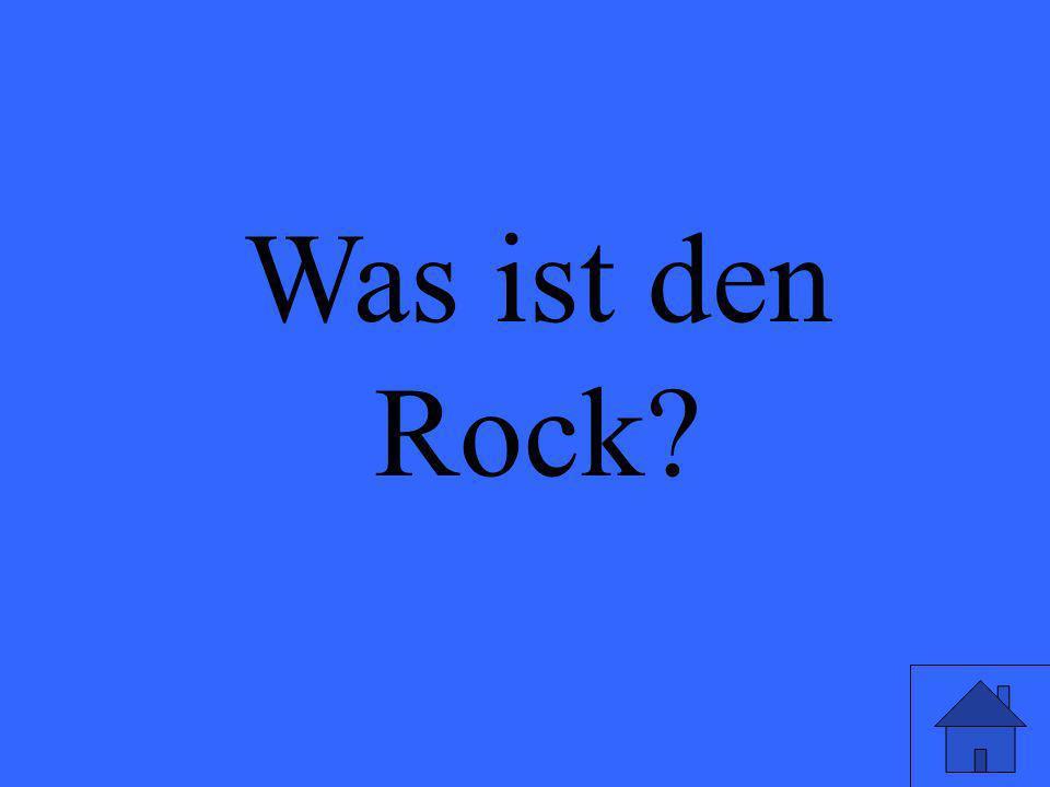 Was ist den Rock