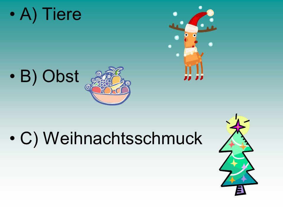 Was kann man auf Weihnachtsmärkten kaufen ?