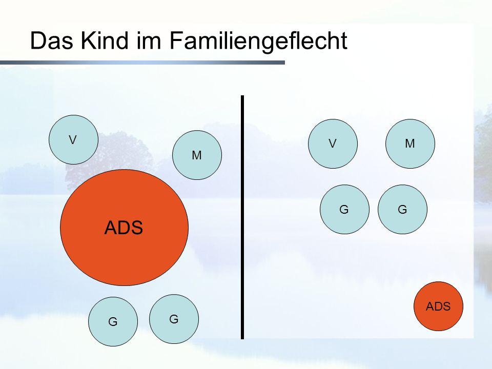 Das Kind im Familiengeflecht V M ADS G G VM GG