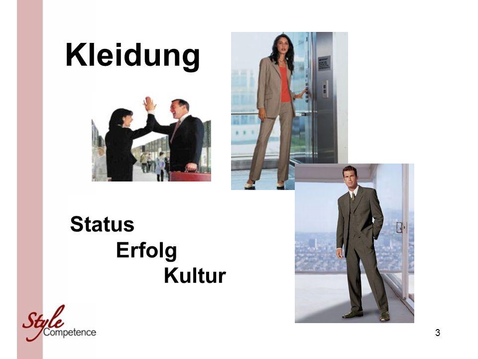 3 Kleidung Status Erfolg Kultur