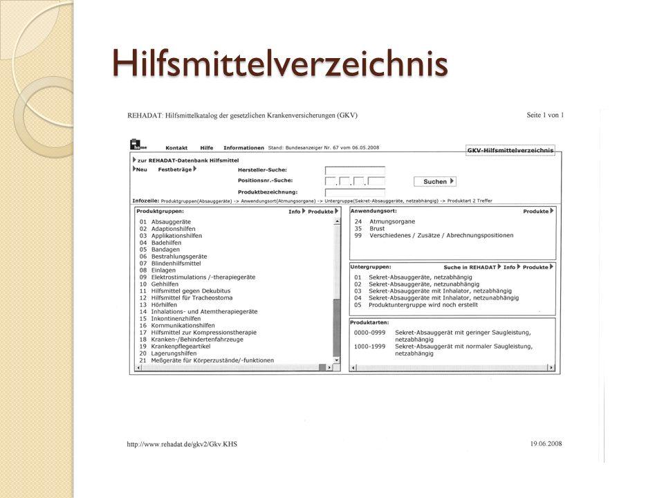 Hilfsmittelverzeichnis
