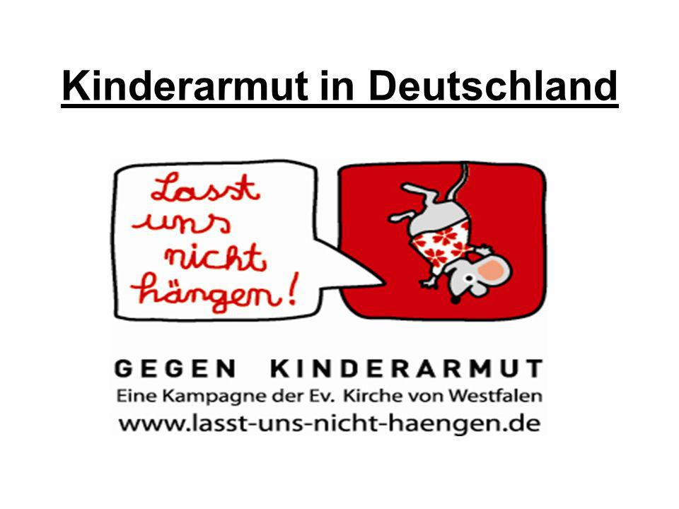 Amt für Jugendarbeit 20082 Fakten und Studienergebnisse Eigentlich ist Deutschland ein reiches Land.