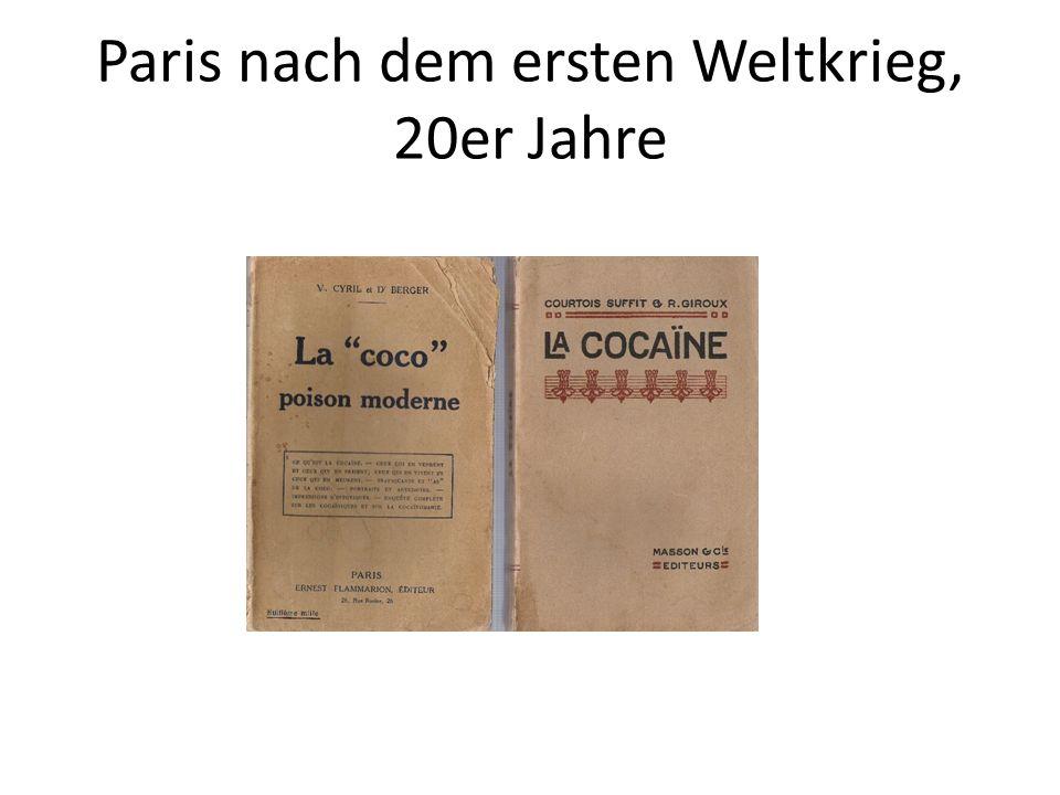 Paris nach dem ersten Weltkrieg, 20er Jahre