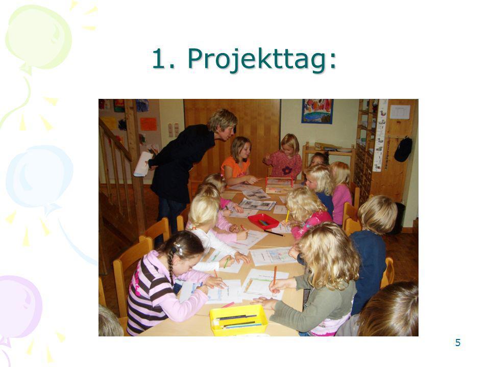 1. Projekttag: 5