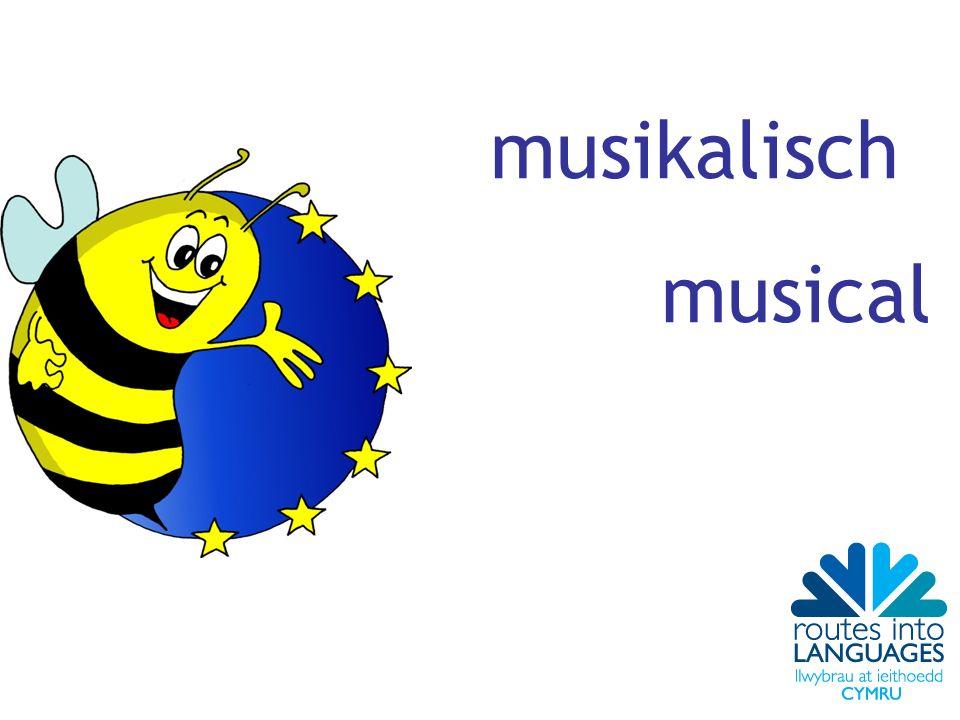 musikalisch musical