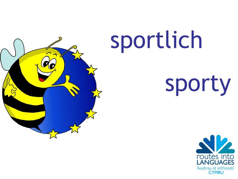sportlich sporty