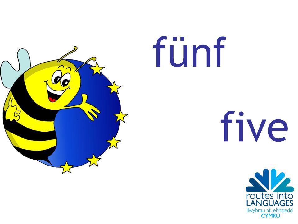 f ünf five