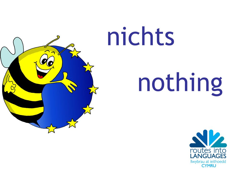 nichts nothing