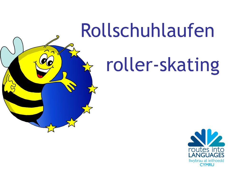 Rollschuhlaufen roller-skating
