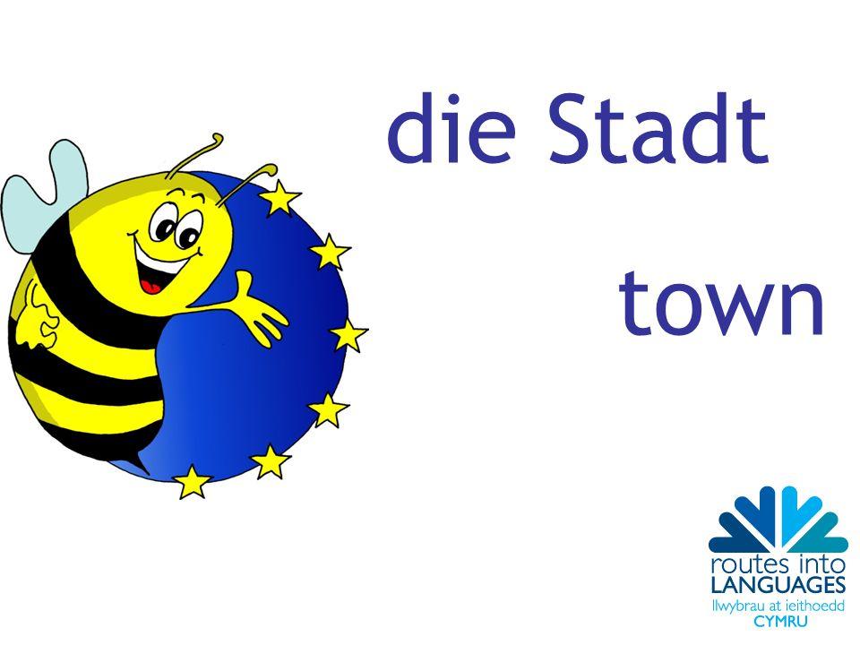 die Stadt town