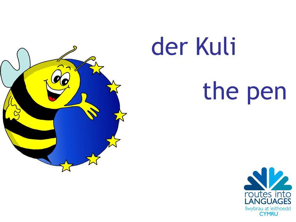 der Kuli the pen
