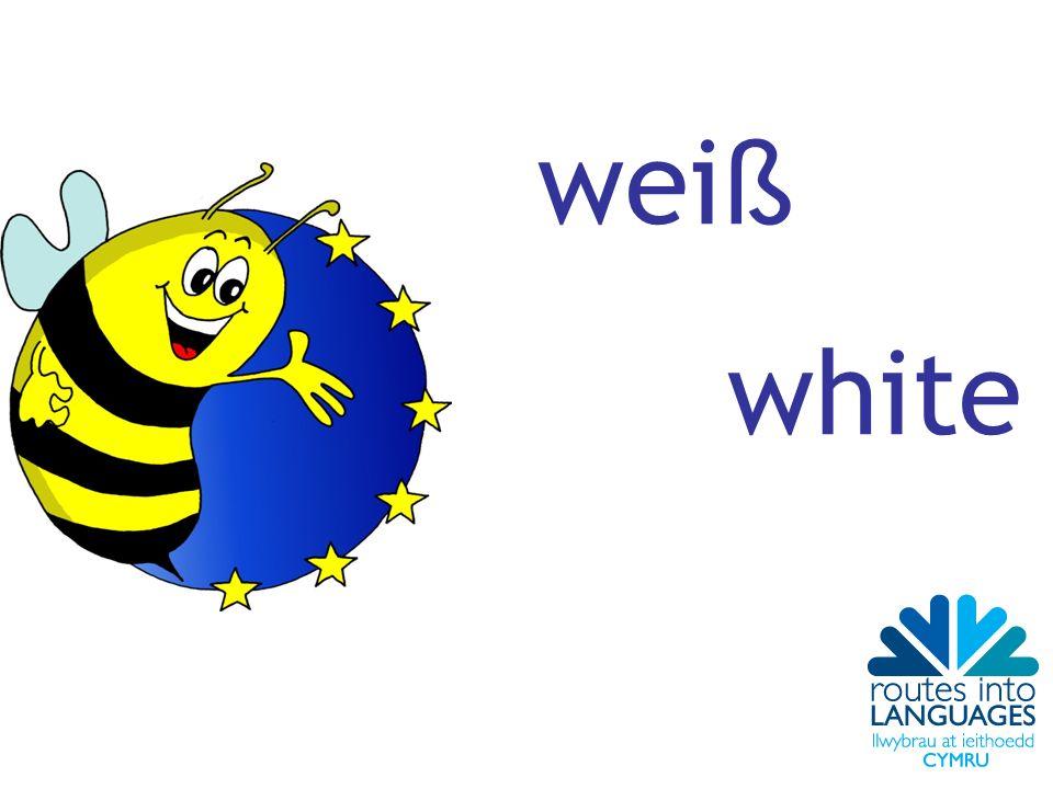 wei ß white