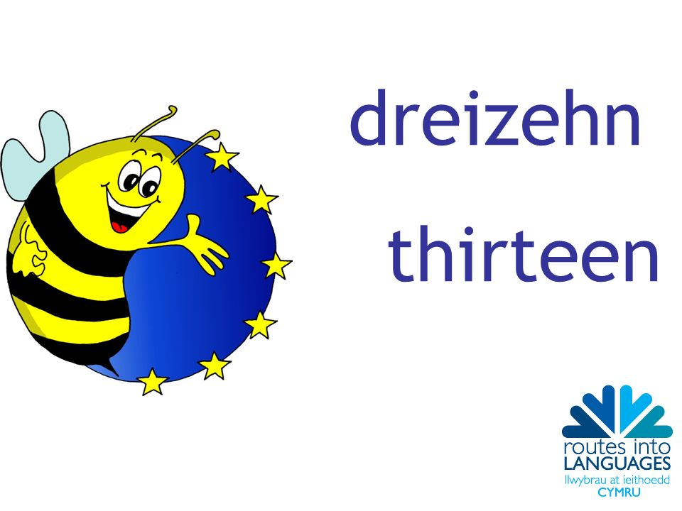 dreizehn thirteen