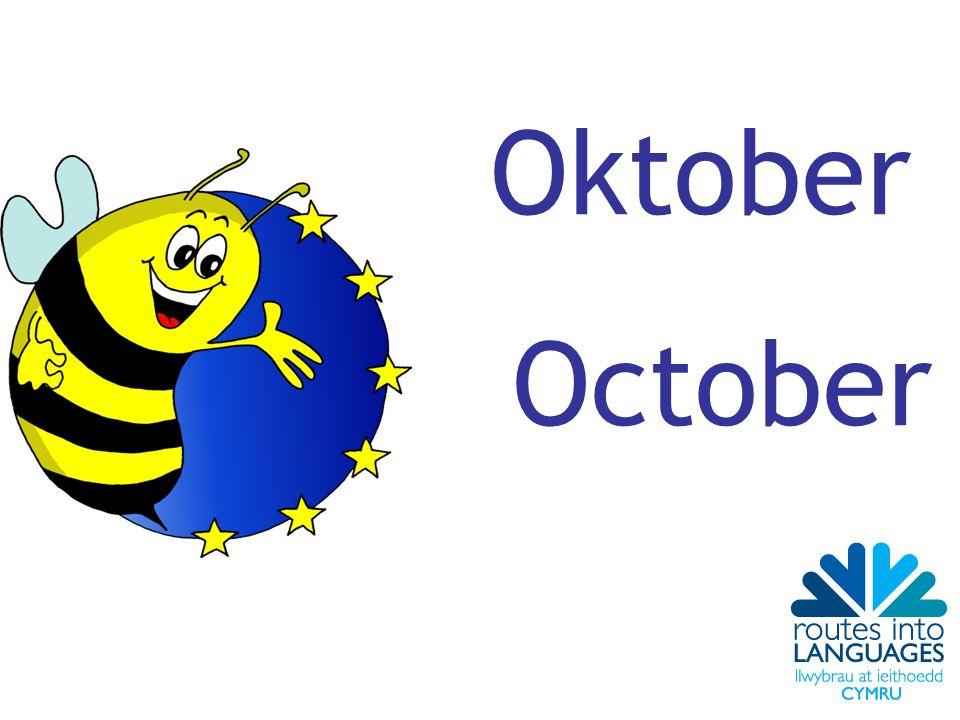 Oktober October