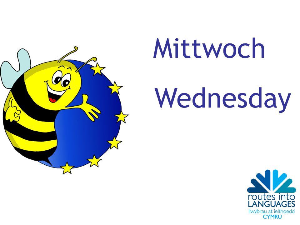 Mittwoch Wednesday