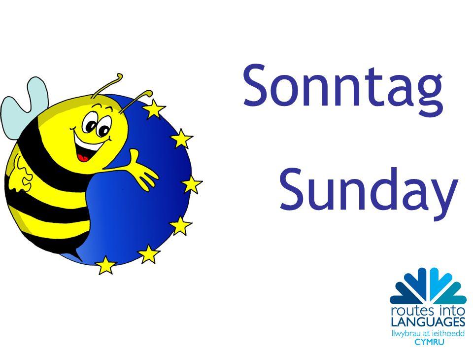 Sonntag Sunday