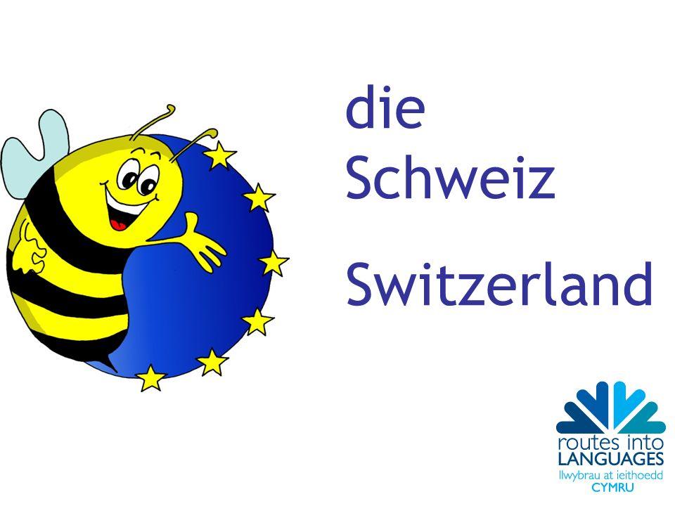 die Schweiz Switzerland