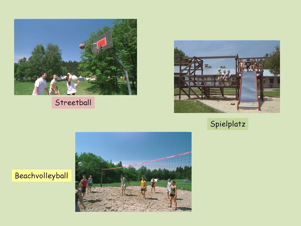 Beachvolleyball Streetball Spielplatz