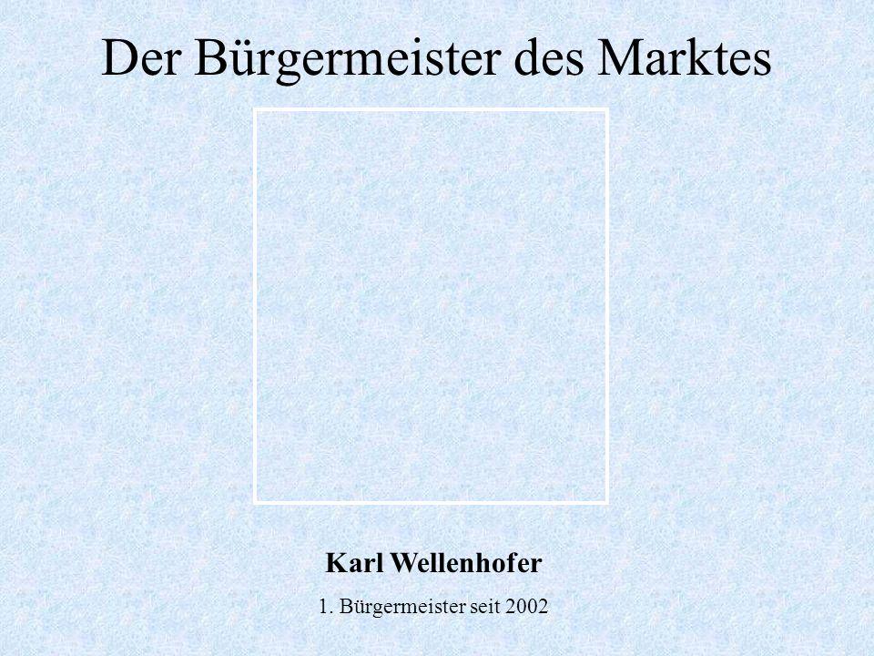 Das Wappen des MarktesWappengeschichte: Das figurenreiche Wappen wurde nach dem Zusammenschluss der beiden Märkte Mallersdorf und Pfaffenberg am 1. Ju