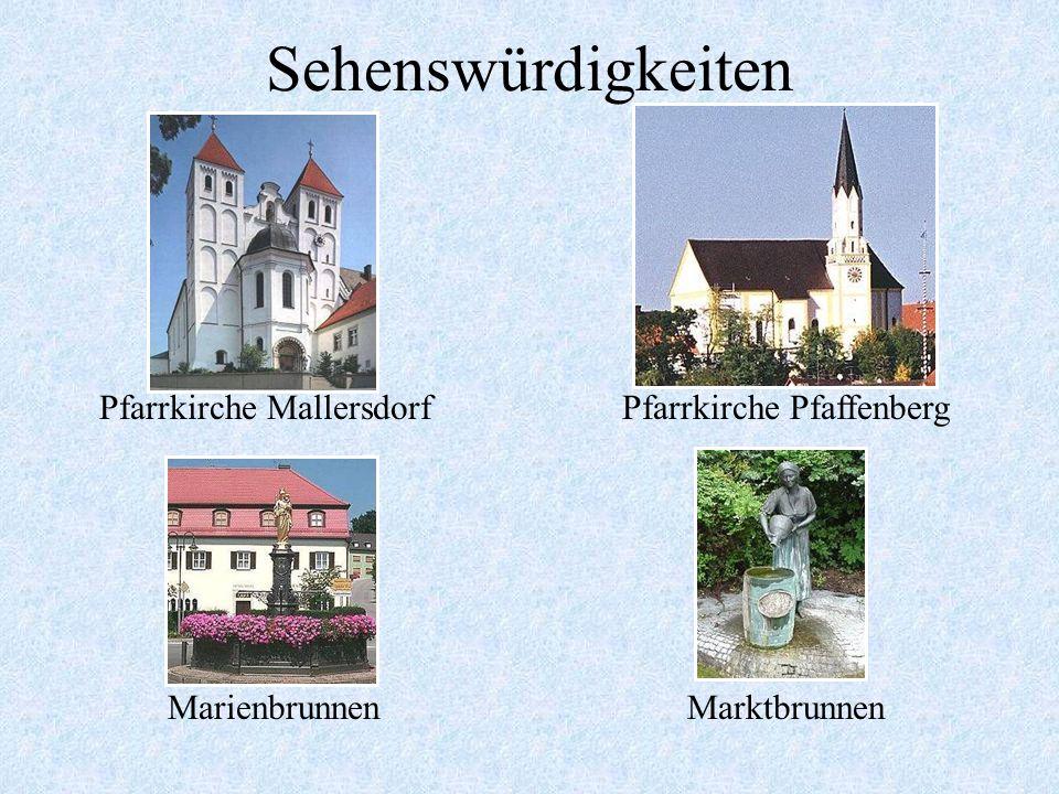 Das Kloster Mallersdorf Mutterhaus der Armen Franzis- kanerinnen von der Hl. Familie, gegründet 1855 in Pirmasens. Die Ordensgemeinschaft zählt ca. 90
