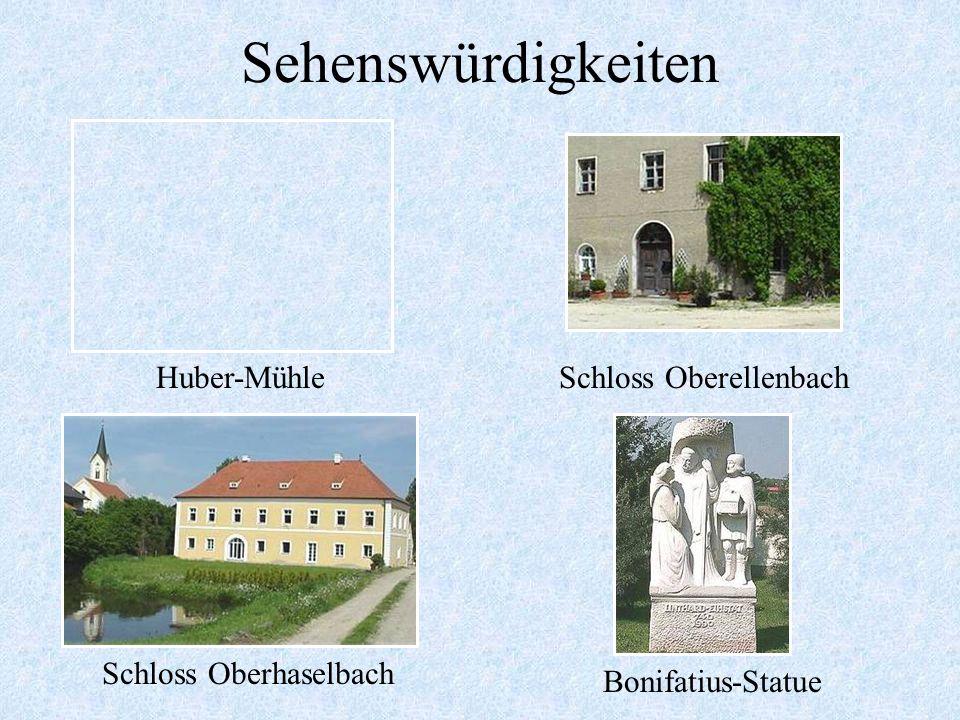 Sehenswürdigkeiten Jüdisches EhrenmalKirche Westen Zollhof in PfaffenbergBonifatiusbrunnen
