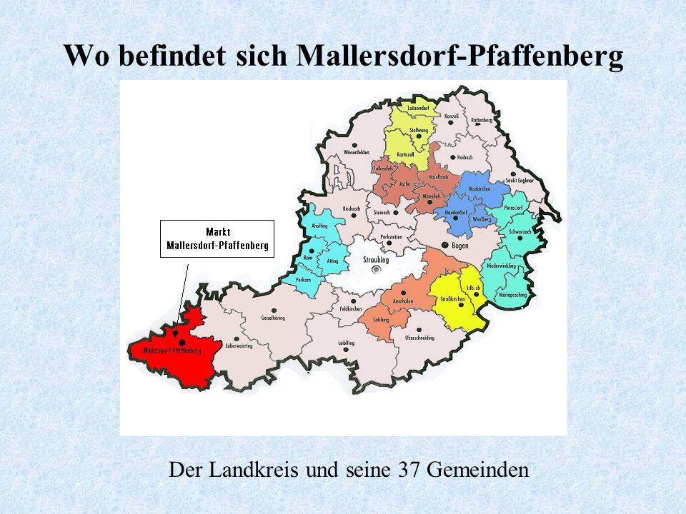 Wo befindet sich Mallersdorf-Pfaffenberg Deutschland und seine 16 Bundesländer Bayern und seine 71 Landkreise Bayern und seine 7 Regierungsbezirke