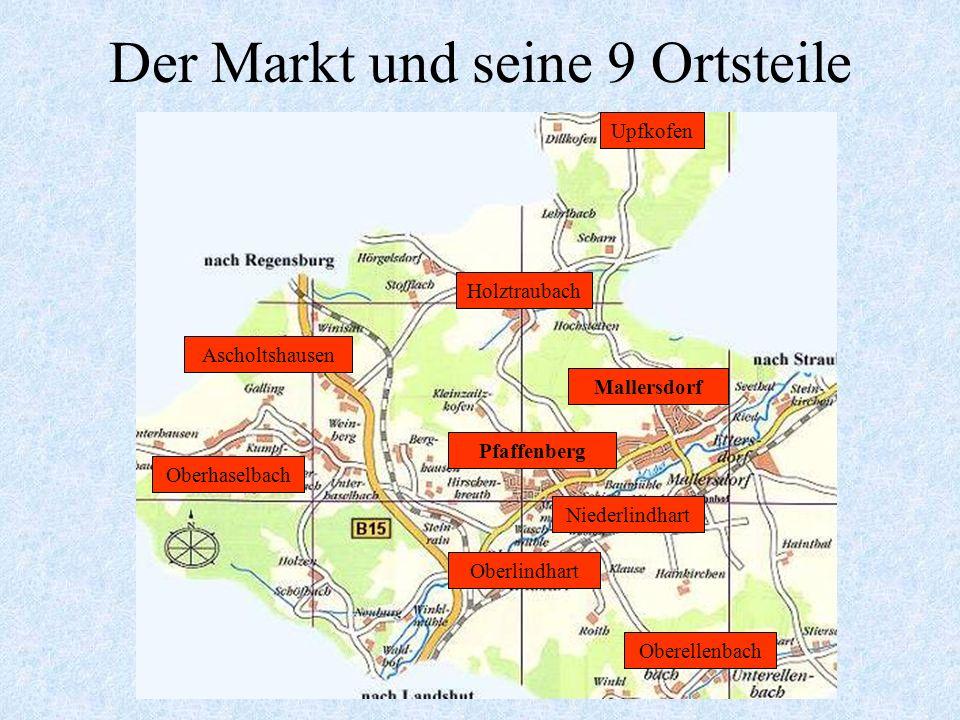 Zahlen - Daten - Fakten Einwohner (Stand 03.01.2008) Fläche gesamt davon Gebäude-/Freifläche Landwirtschaftsfläche Forstwirtschaftsfläche Verkehrsfläc