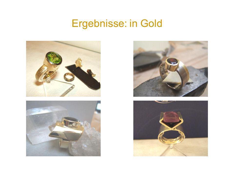 Ergebnisse: in Gold