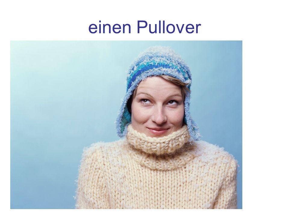 einen Pullover