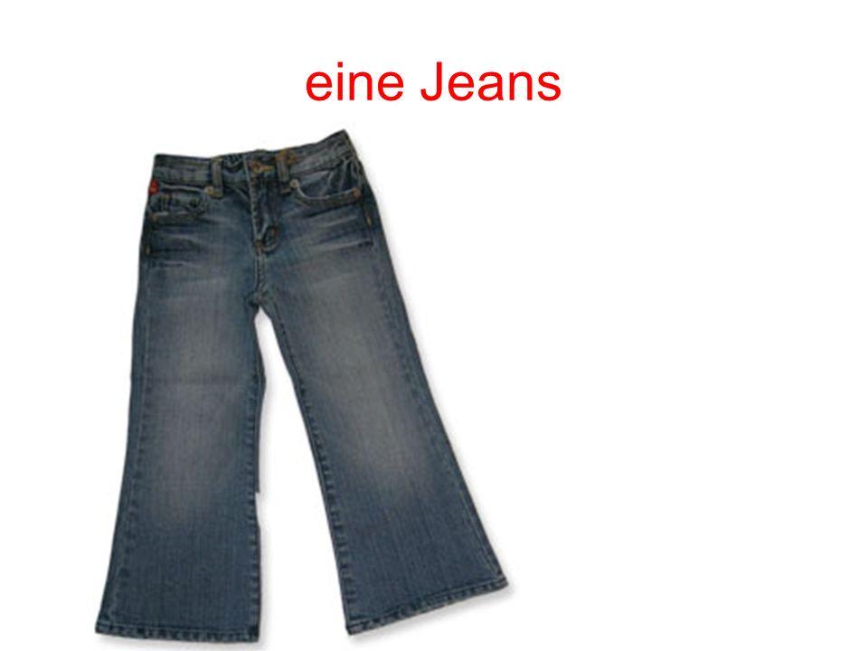 eine Jeans