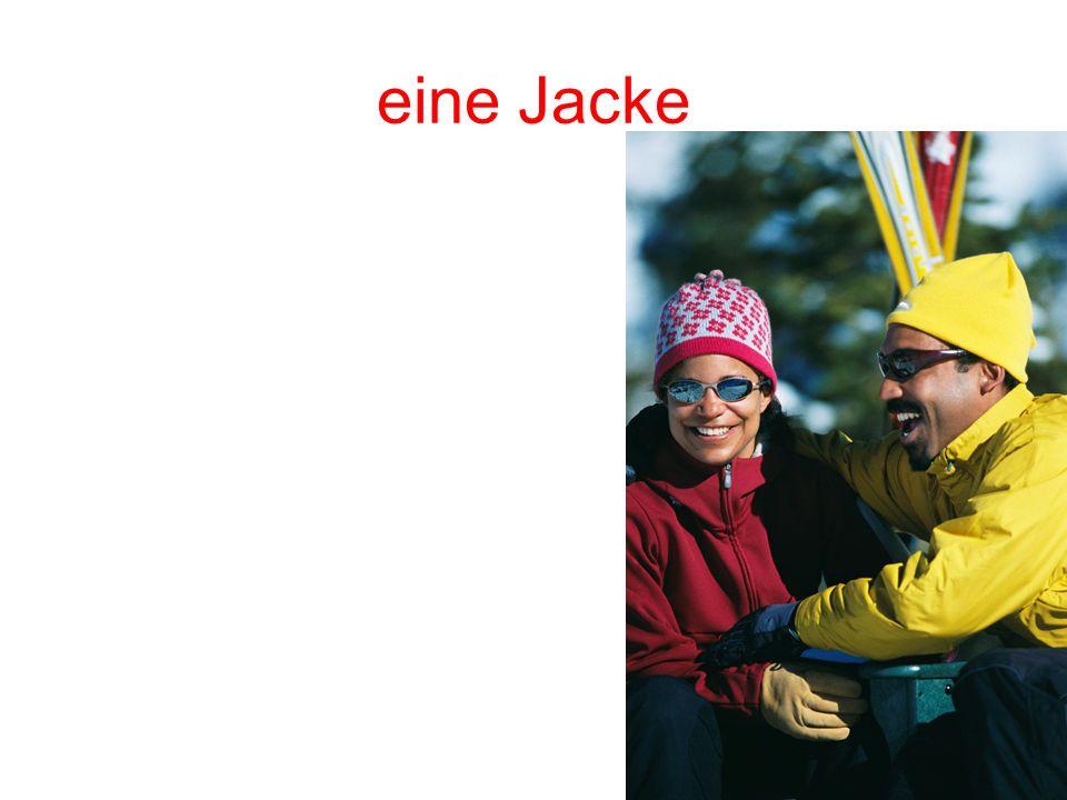 eine Jacke