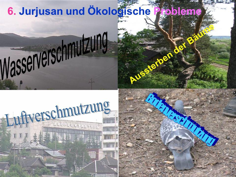 Aussterben der Bäume 6. Jurjusan und Ökologische Probleme