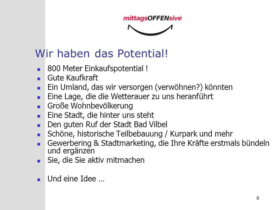 39 Und im Internet Ständig neue Ideen und Anregungen… www.mittagsoffensive.de