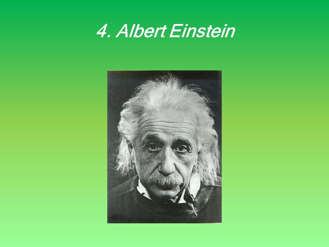 4. Albert Einstein
