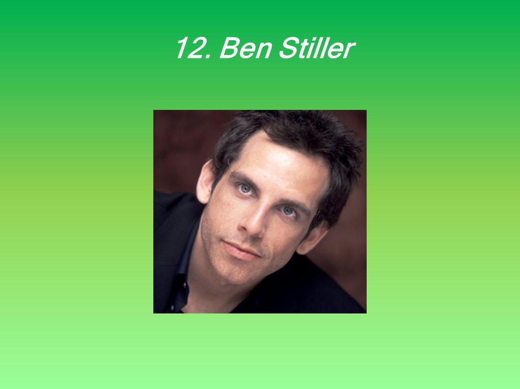 12. Ben Stiller