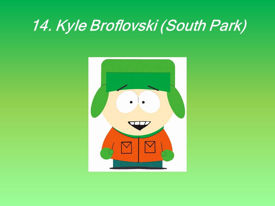 14. Kyle Broflovski (South Park)