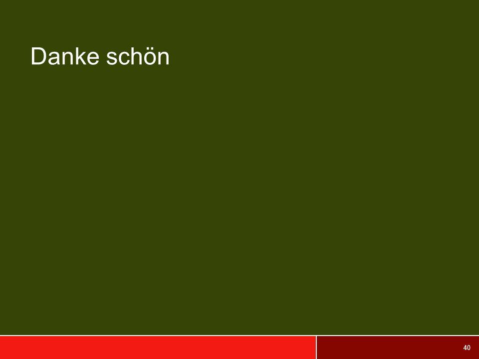 40 Danke schön