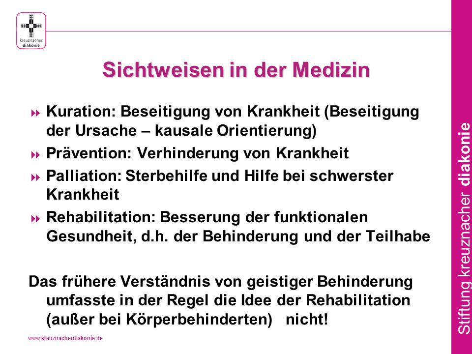 www.kreuznacherdiakonie.de Stiftung kreuznacher diakonie MoRe und Eingliederungshilfe - Begriffsklärungen 1.